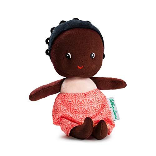 Lilliputiens 83128 Stoffpuppe Meine erste Babypuppe Maia 8x7cm