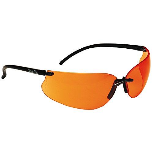 Makita P-66363 Occhiali da sole/Occhiali protettivi da lavoro, incl. Astuccio e panno lucidante