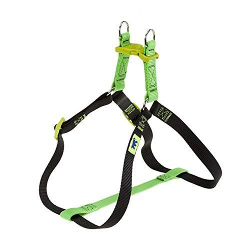 Petryan hondenharnas voor honden, outdoor training met voeten, borstband, goudkleurig, kleine en middelgrote ketting voor huisdieren buffer