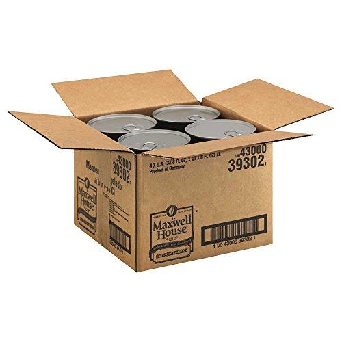 Maxwell House Columbian Coffee Frozen Liquid Concentrate - 33.8 oz. carton, 4 cartons per case