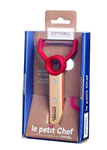 Opinel Knife, Stainless Steel, Gray, Medium