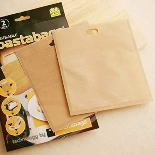 DishyKooker - Bolsa para tostadora de Alta Resistencia a Altas temperaturas para sándwiches de Queso a la Parrilla, 16 * 18cm, Brown Without Packaging