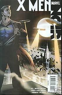 X-Men Noir #4 regular cover A