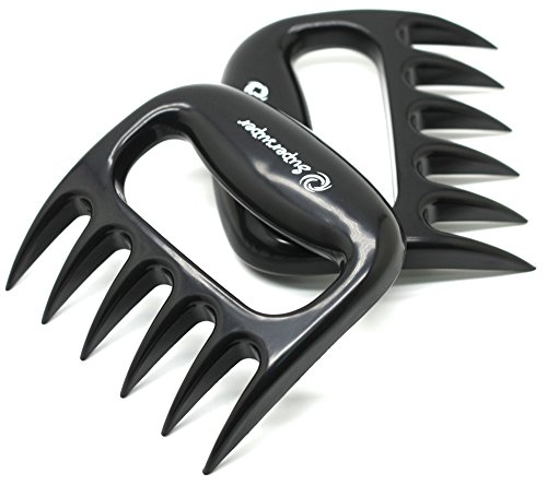supersuper Meat Claws Pulled Pork Shredder Claws,Barbecue Meat Claw,Shredding Handling & Carving Food,BBQ Tool