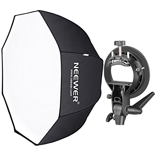 Neewer 32 inches/80 centimeters Octagonal Softbox with S-Type Bracket...