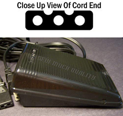 Best Bargain Replacement Foot Control Pedal W/Cord for Singer 4562 4572 4622 5102 5107 5122 5123 512...