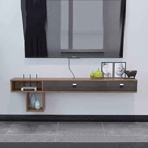 ZY-XSP Regale Schwimmdock Set-Top-Box Rack-Wandbehang Moderne Minimal Hängend...