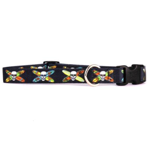 Yellow Dog Design Longboard Skulls Halsband 3/20,3cm breit und