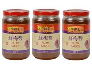 Lee Kum Kee - Pflaumensauce - 3er Pack (3 x 397g) - Original chinesisch