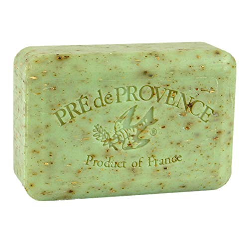 Pre de Provence Artisanal French Soap Bar Enriched with Shea Butter Sage 250 Gram