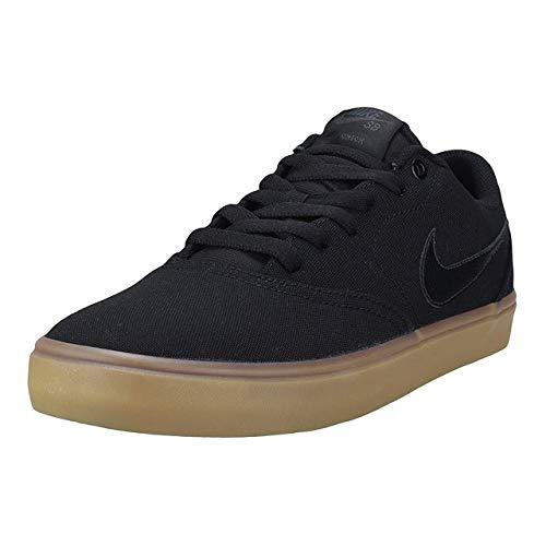 Nike SB Check Solar Cnvs, Zapatillas de Skateboarding para Hombre, Multicolor (Lt British Tan/Sail/White/Black 211), 38.5 EU