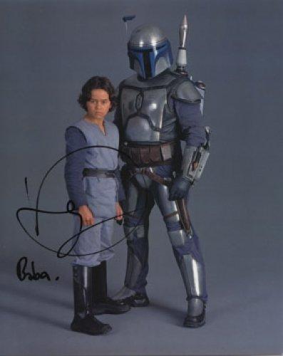 Daniel Logan 2 (Boba Fett - Star Wars) Autogramm
