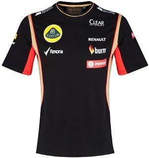 e79a1cf4005dc T Camisa Camiseta para Hombre de fórmula uno 1 Lotus F1 Team pedevesa  patrocinador 2014/