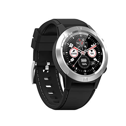 Fulltime North-Edge X-Trek3 Herren Sport Smart Watch Digital Armbanduhr 5ATM wasserdichte Stoppuhr, Professionelle Outdoor Sportuhr, Mit Höhenmesser/Kompass/Wetter/Körpermonitor (Silber)