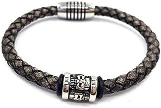 NJSDDB Vintage herenarmband doodshoofd skelet armband punk
