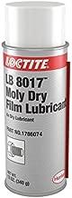Loctite 1786074 LB 8017 Moly Dry Film Lubricant, 12 oz. Aerosol Can