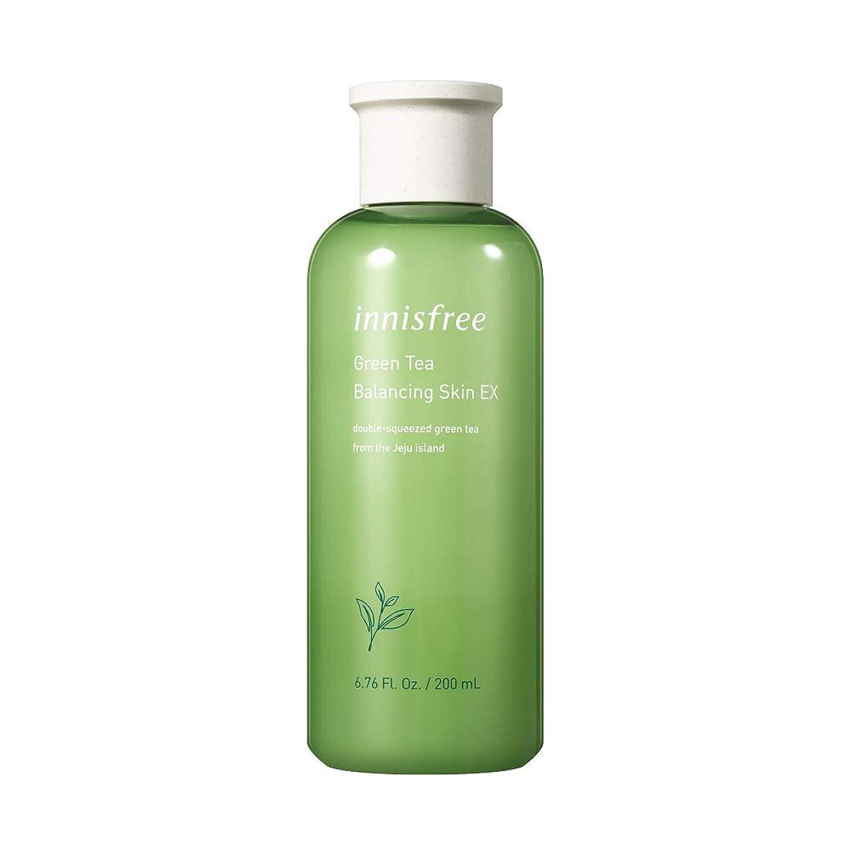 崇拝します認識ヨーロッパイニスフリー日本公式(innisfree)グリーンティー バランシングスキン[化粧水]200mL