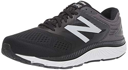 New Balance Men's 940 V4 Running Shoe, Black/Magnet, 10 W US