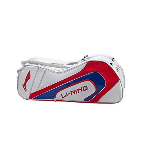 YIXINGSHANGMAO Multi-Functional Badminton Racket Bag, Tennis Racket Bag, Shoulder Racquet Bag, Handle and Shoulder Strap, Large Capacity, 6 Racket Bags, Waterproof and Dustproof. (Style : D)