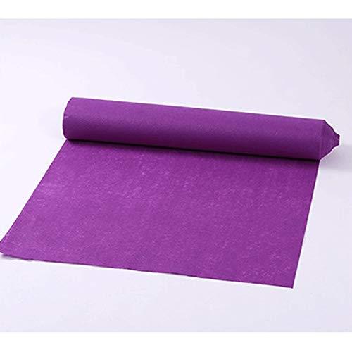 Corredores De Pasillo - Alfombra De Pasillo Pasillo De La Boda Runner - Grosor Violeta 1 Mm (el Tamaño Puede Ser Personalizado) LEBAO (Color : Violet, Size : 1.5 * 90m)