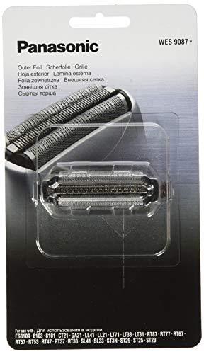 Panasonic WES9087Y1361, Testina di Ricambio per Rasoi Elettrici Uomo ESLL41 ESLL21 ESRT37 ESSL33, Lamina Esterna Originale