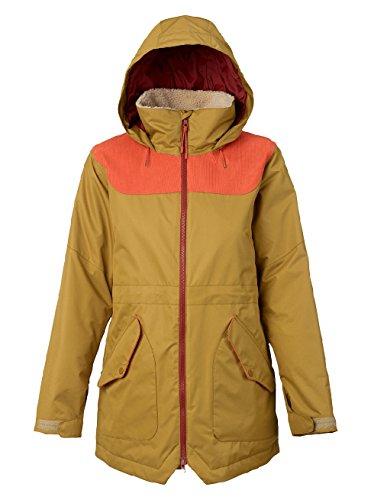 Burton Damen Prowess Jacket Snowboardjacke, Plantation/Persimmon, S
