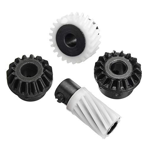 EsportsMJJ 4 stks Naaimachine Haak Drive Gears voor Singer Stylist 500 Series 502 507 509 513 514 518 522