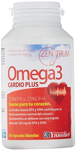 Zentrum90 Omega 3 Cardio Plus Aceite de pescado - 60 cápsulas