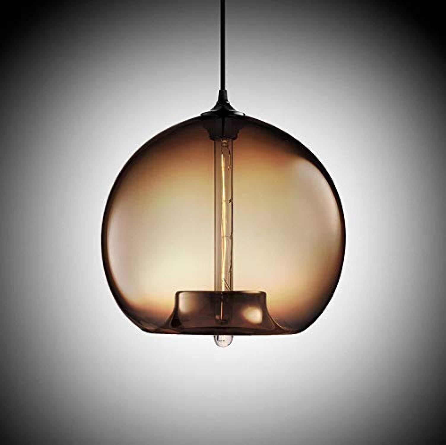 Beakjiful E27 suspension lustre en verre, 305  305 mm, 4