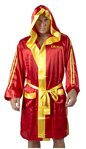 Rocky Balboa Erwachsene rot Ivan Drago Satin Robe And Short Set