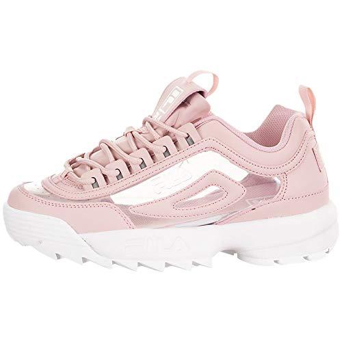 Fila Damen-Sneaker Disruptor II, (rosa / weiß), 35.5 EU