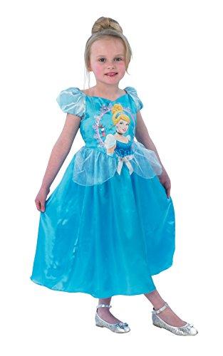 Rubie's - Déguisement Officiel - Disney - Disney Princesse - Déguisement Classique Story Time Cendrillon – 78 Ans - Taille L - CS889550/L