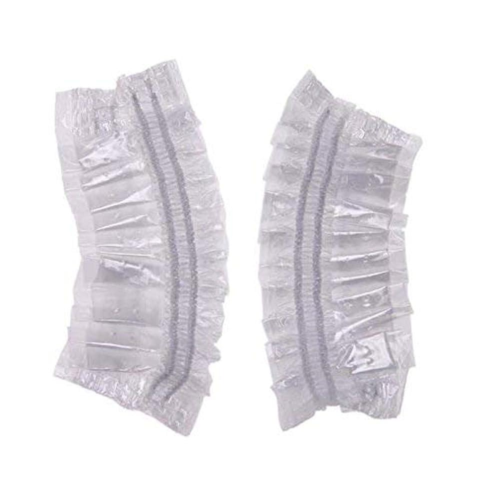 に対応太字トリプルSimg イヤーキャップ 使い捨て 簡単 装着 透明 毛染め