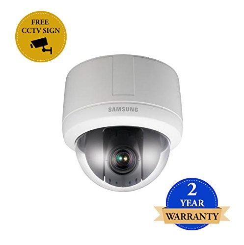 SS92 - SAMSUNG SCP-3120P 12-Fach Zoom 600TVL Day & Night INTERNE WDR PTZ CCTV-Dome-Kamera