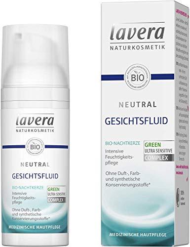 Lavera Gesichtsfluid Neutral Bio-Nachtkerze 3er Pack (3 x 50ml)