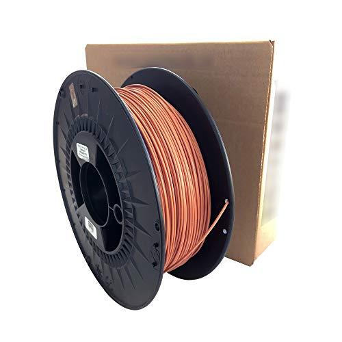 3D Printer Filament - PLA colour brick - 1.75 mm - Weight 1000 g (1 kg) 3D printing