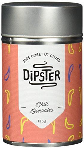 Dipster Chili Gonzales, Mexikanische Gewürzmischung für Dips und zum Kochen, 1er Pack (1 x 110 g)