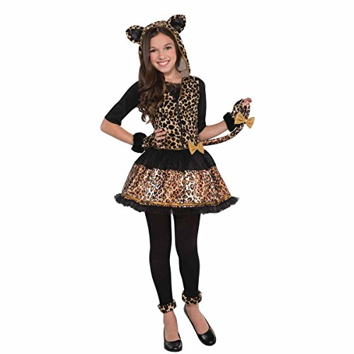 Déguisement robe léopard espiègle Déguisement d'Halloween pour enfants, adolescents