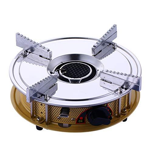 HGFDSA Estufa De Cassette Portátil/Estufa De Gas/Estufa De Gas/Estufa De Picnic para Acampar Al Aire Libre Pequeña Caldera De Fuego