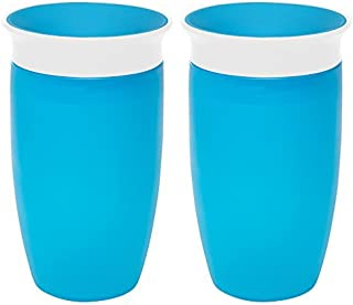 Munchkin Miracle 360 Sippy Cup, Blue, 10 Ounce, 2 Count Color: Blue, Model:
