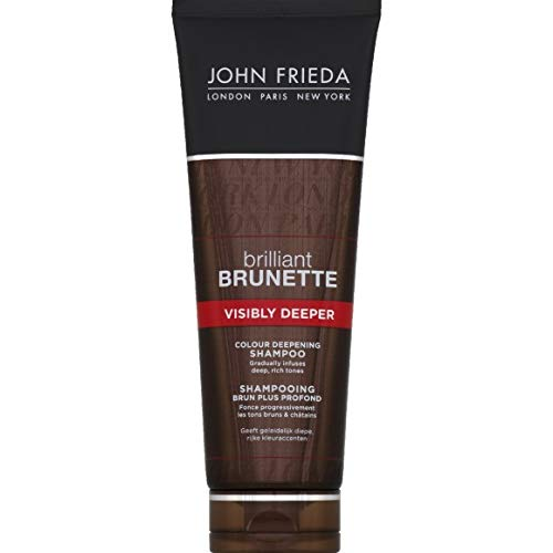 JOHN FRIEDA Brilliant Brunette Shampoo tiefbraun 250 ml