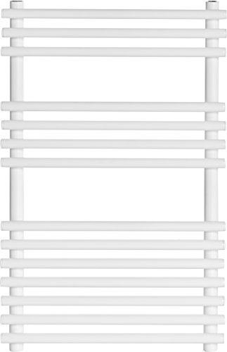 Ultraheat 798 x 500 mm Windsor Rohr auf Stahlrohr Beheizter Handtuchhalter, weiß