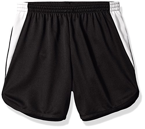 Augusta Sportswear Augusta Youth Rapidpace Track Short, Black/White, Large