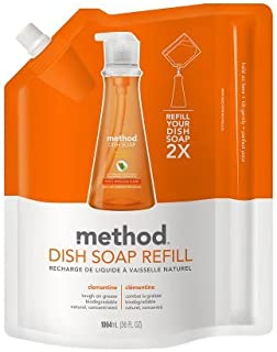 Natural! Method Dish Soap Refill Clementine36.0 fl oz(2pk)