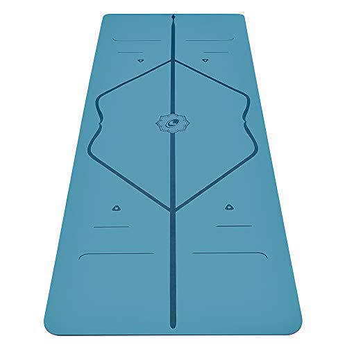 Liforme Original Yoga Mat – Patented Alignment System,...