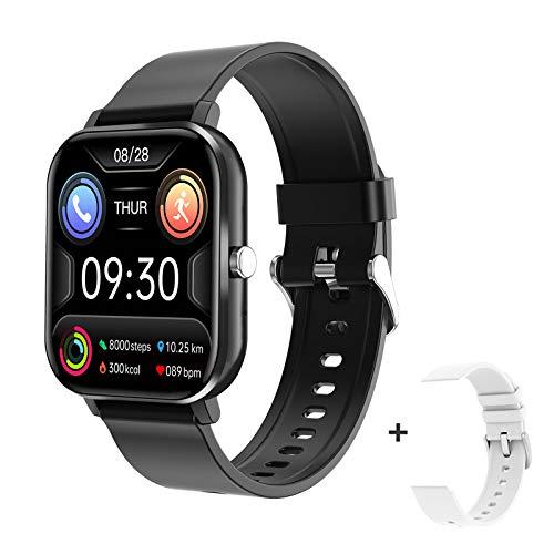 docooler 1.54 Pollici Smart Watch Uomo Full Touch Fitness Tracker Chiamata Wireless Pressione Sanguigna Donna Sport Smart Wristband Compatibile con Android iOS