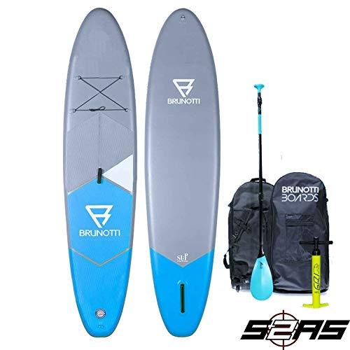 BRUNOTTI FAT Ferry 10.6 iSUP Stand Up Paddle Surfboard SUP Paddelboard mit...
