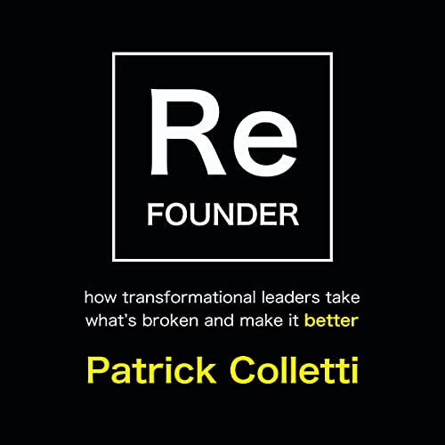 Refounder Audiobook By Patrick Colletti cover art