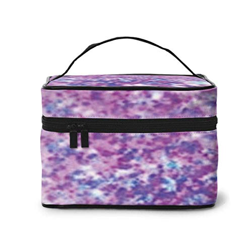 Bling Bling Pink Purple achtergrond reizen make-up case make-up cosmetica case organizer draagbare opbergtas