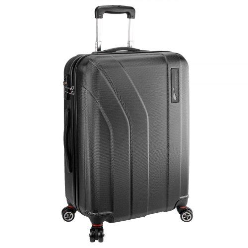 Cocoono Trend 4-Rollen-Trolley 68 cm schwarz